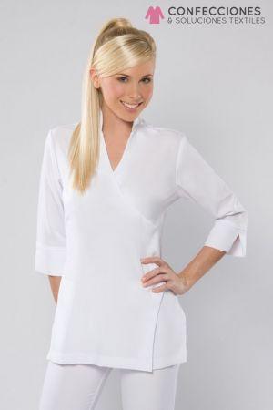 uniforme para medico blanco cstradha
