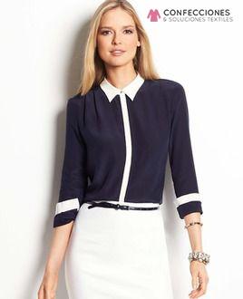 uniforme para recepcionista con falda cstradha
