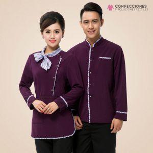 uniformes para camarero de hotel combinado cstradha