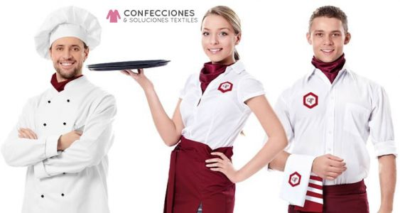 uniformes para restaurantes y meseros