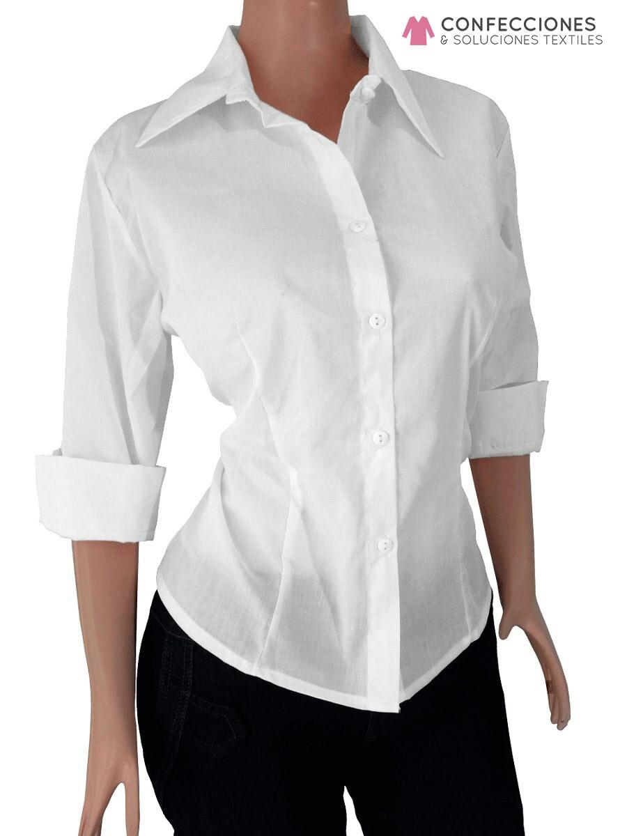 8668b5597d Venta de camisas blancas para uniformes