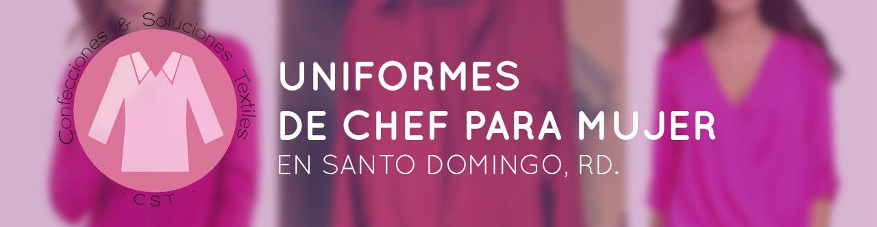 uniformes de chef para mujer