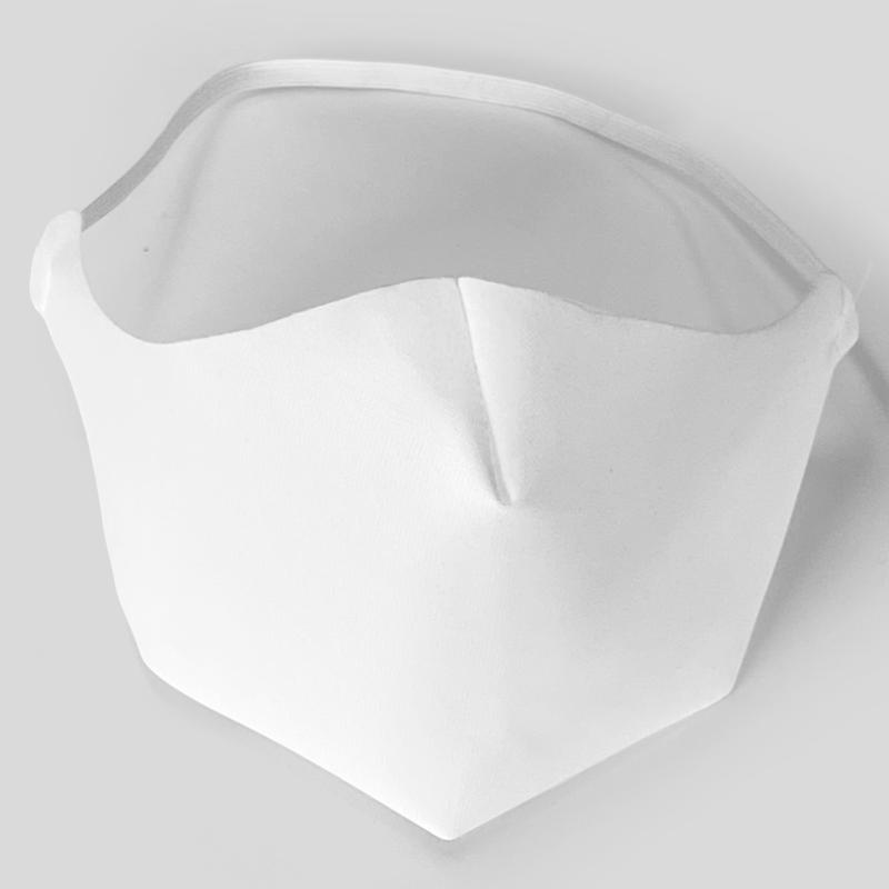 mascarillas de tela blancas