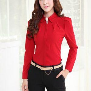 blusas para uniformes ejecutivos en santo domingo, rd, manga larga y con botones ocultos