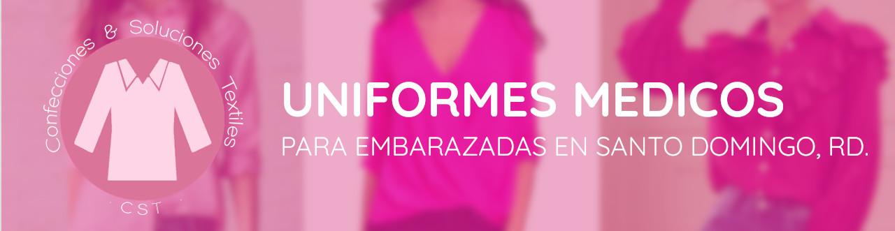 uniformes medicos para embarazadas