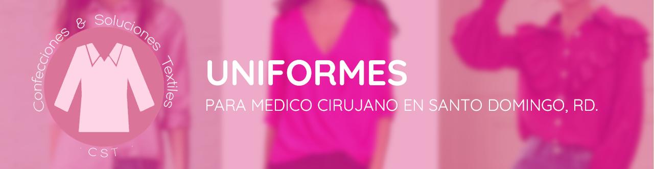 uniformes para medico cirujano