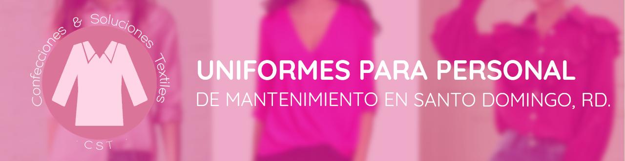 uniformes para personal de mantenimiento