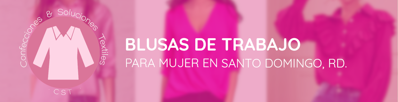 blusas de trabajo para mujer